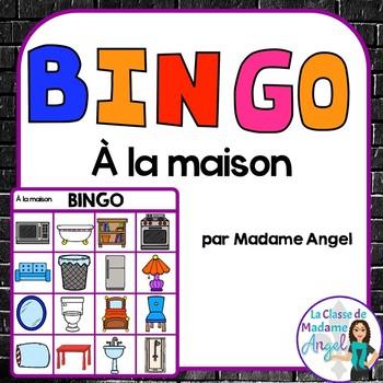 La maison:  French House Themed Bingo Game
