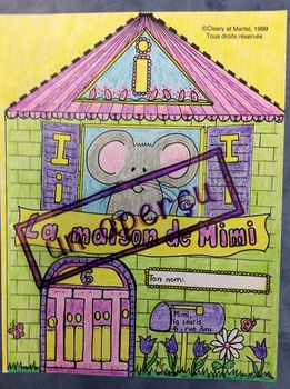"La maison de Mimi- FRENCH- Poster for the sound ""i"""