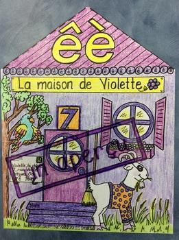 "La maison de Violette- FRENCH- Poster for the sound ""è"""