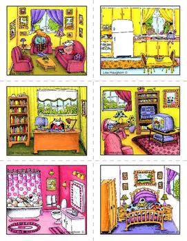 La maison et les prépositions