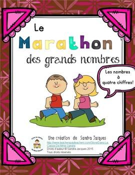 La marathon des grands nombres jusqu'à 10 000