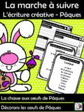 La marche à suivre L'écriture créative - Pâques