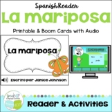 La mariposa ~ Spanish Butterfly Reader  {español} + BOOM™ Version with Audio