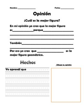 La mejor figura geometrica opinion writing
