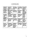 La merienda- Un juego de lotería-Present and Past Subjunct