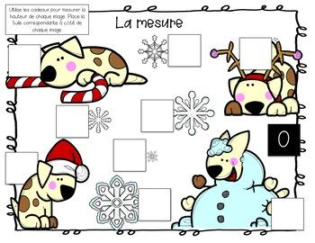 La mesure non conventionnelle / French Nonstandard Measurement Number Tiles