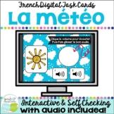 La météo ~ French Weather Vocabulary BOOM™ Task Cards w Au