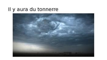 La meteo / The weather in the future