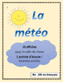 La météo / Weather vocabulary in French