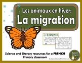 La migration - Les animaux en hiver (French migration- Animals in Winter)