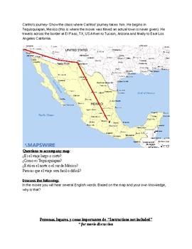 La mimsa luna/ Inmigracion Lesson Bundle