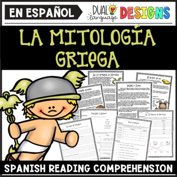 La mitología griega PAQUETE (Greek Mythology in Spanish)
