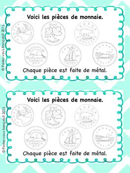 La monnaie booklet- Canadian coins