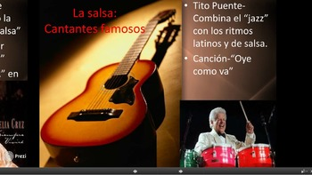 La música y el baile hispano: Spanish music and dance Prezi!