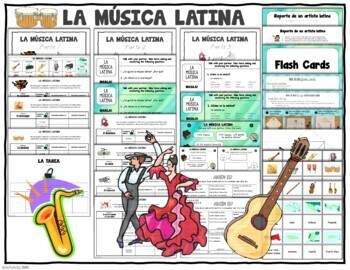 La musica latina / Latin Music Activity Packet
