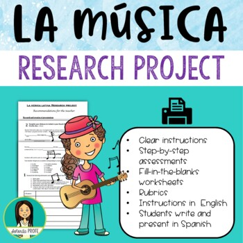 La Musica Latina / Latin Music Research Project