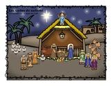 La nativité: Les 12 jours de Noël