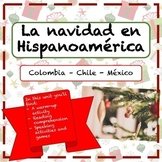 La navidad en Hispanoamérica: reading and speaking for Spanish class