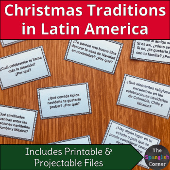 La navidad en Latinoamérica: reading, speaking & vocabulary for Spanish class