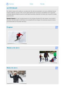 La nieve - Invierno - The snow - Winter (Spanish)