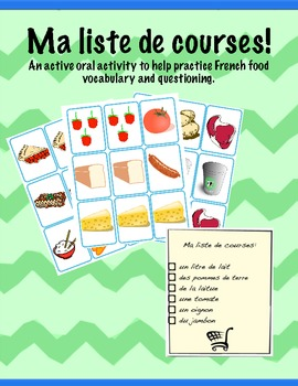 La nourriture: Ma liste de courses (jeu)