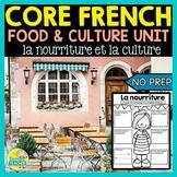 La nourriture French food for FSL