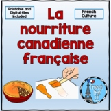 La nourriture française-canadienne French-Canadian food Fr