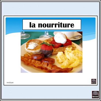 La nourriture/Food pictures - presentation #1