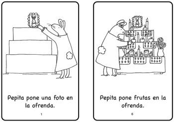 La ofrenda de Pepita Day of the Dead Spanish Printable Minibook