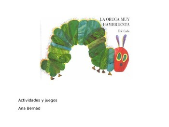 La oruga muy hambrienta: activities and games  Powerpoint