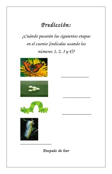 Spanish La oruga muy hambrienta/The Very Hungry Caterpillar Reading Booklet