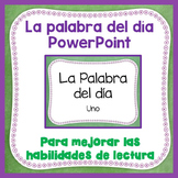 La palabra del día -  PowerPoint One - Spanish Sight Words FREE!