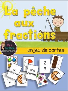 La pêche aux fractions (Fractions Card Game)