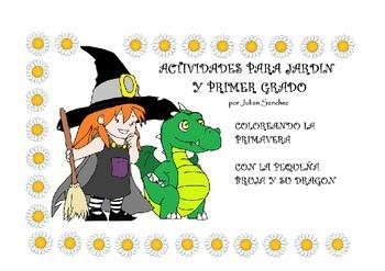 La pequeña bruja y su dragón (Actividades sobre primavera)