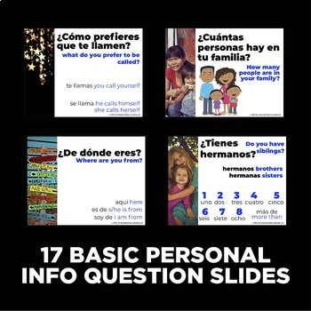 La persona especial / Estrella del día - 50+ projectable interview questions