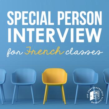 La personne spéciale / La star du jour - 50+ projectable interview questions