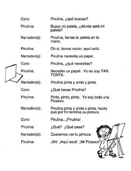 La pintora Pirulina