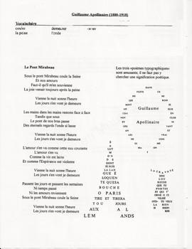 La poésie - unit/lesson/resource ***