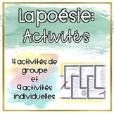 La poésie - Les activités (Distance Learning)