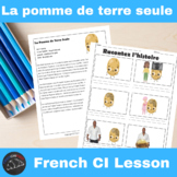 La pomme de terre seule - Comprehensible Input story for French learners