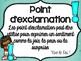 La ponctuation affiches ou presentation