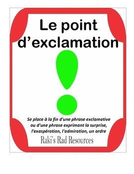 La pounctuation- French punctuation