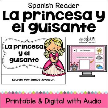 La princesa y el guisante Spanish Princess & the Pea Reader