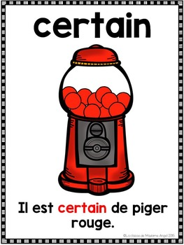 La probabilité - les affiches:  French Probability Posters