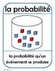 La probabilité - affiches et cartes (Probability posters and flash cards)