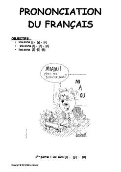 La prononciation du francais 1. Les difficultes pour anglophones