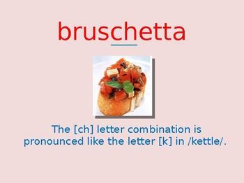 La pronuncia delle lettere ch gl gn sc  Italian pronunciation