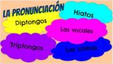 La pronunciación - Pronunciation