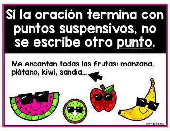 La puntuación en español - EL PUNTO