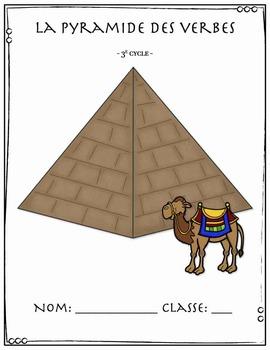 La pyramide des verbes, étude et quiz